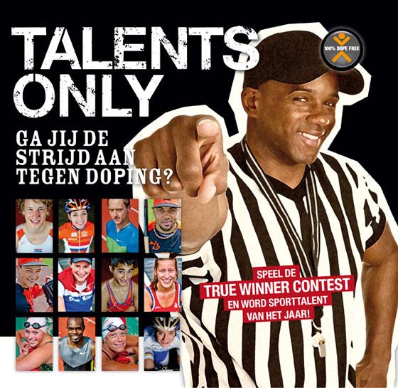 Brochure voor Talents Only