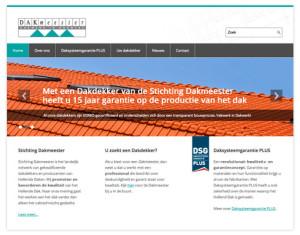 Homepage van www.dakmeester.nl