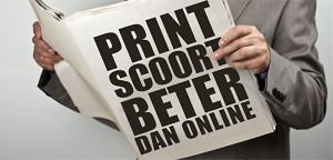Print Scoort Beter dan online