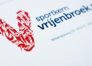 Logo en huisstijl Sportkern Vrijenbroek